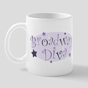 """""""Broadway Diva"""" [purple] Mug"""